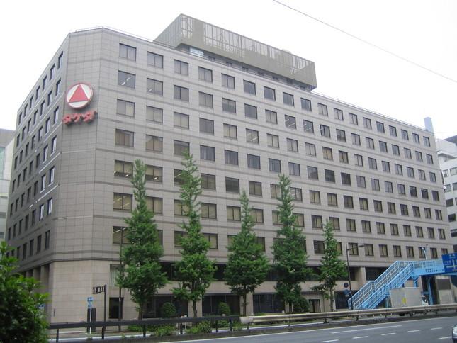 武田薬品工業の東京本社。大型M&Aの行方は