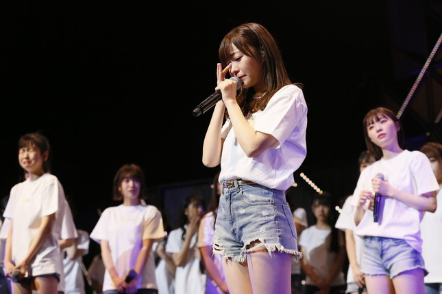グループからの卒業を発表する指原莉乃さん(c)AKS