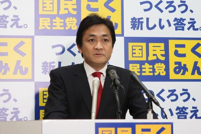 国民民主党の玉木雄一郎代表。ダブル選の可能性を警戒している