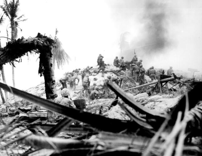 タラワの戦いでは日本軍は玉砕した