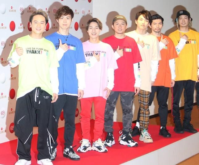 DA PUMP(NHKホールにて撮影)