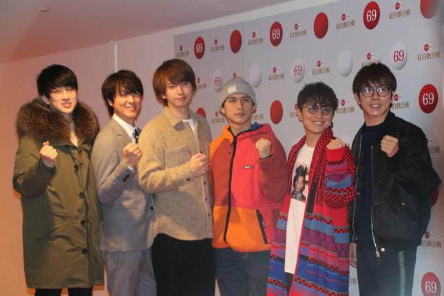 関ジャニ∞(2018年12月29日撮影)