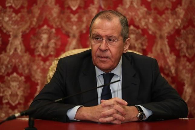 ロシアのラブロフ外相は、「北方領土」の呼称を「受け入れられない」と主張した(写真はロシア外務省ウェブサイトから)