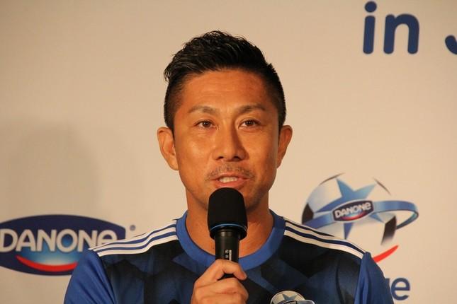 サッカー元日本代表の前園真聖さん(2017年撮影)