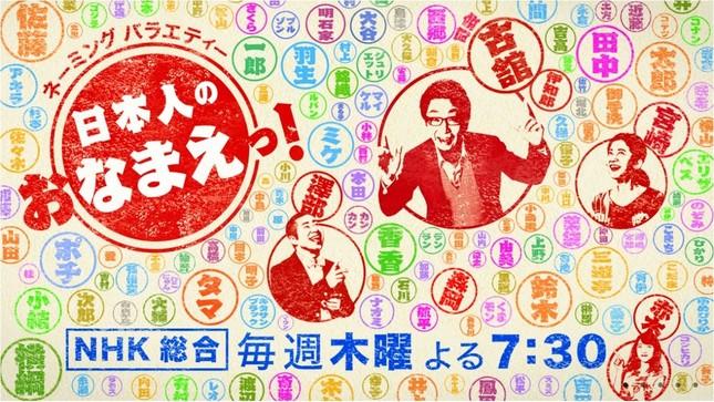 NHK「日本人のおなまえっ!」サイトより