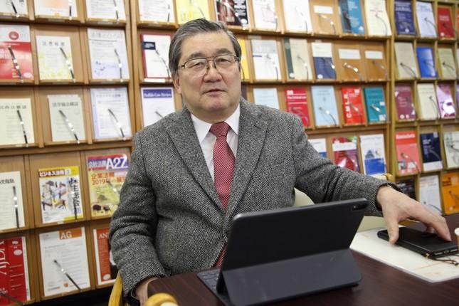 北方領土交渉についての見通しを語る 法政大学教授の下斗米伸夫さん(ロシア政治)