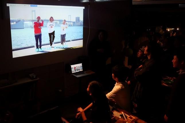 東京・渋谷ではMVのお披露目会も開かれた