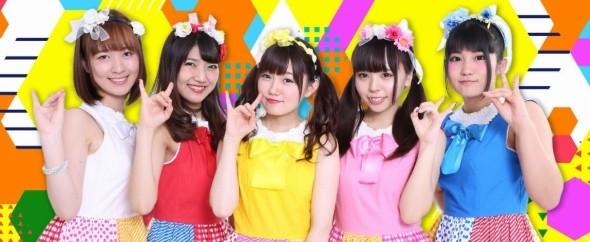 5人組グループのchuLa。右端が夏目さん(公式サイトより)