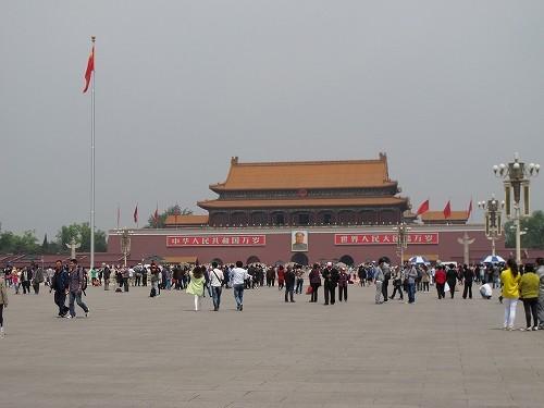 毛沢東は「日本の歩む道」を予言していたのか(写真は北京の天安門広場)
