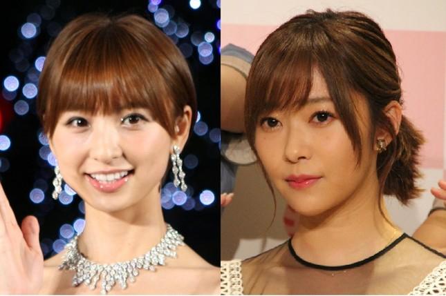 篠田麻里子さんと指原莉乃さん