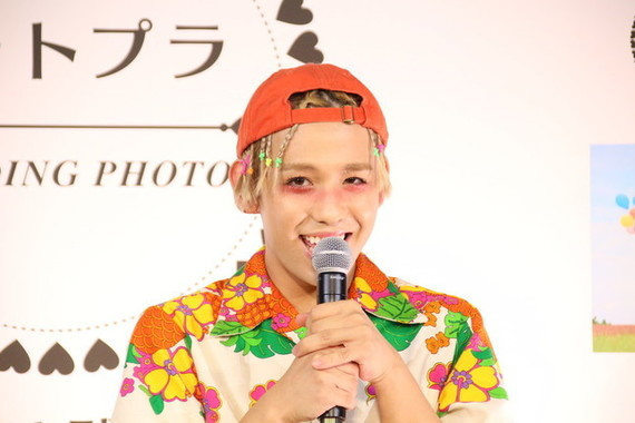 りゅうちぇるさん(17年3月7日撮影)
