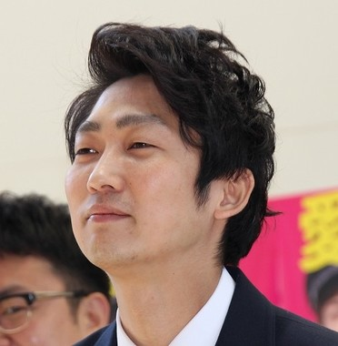 NON STYLE 石田明さん(2017年4月撮影)