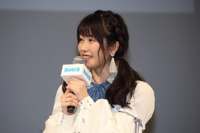 横山由依さん(2017年撮影)
