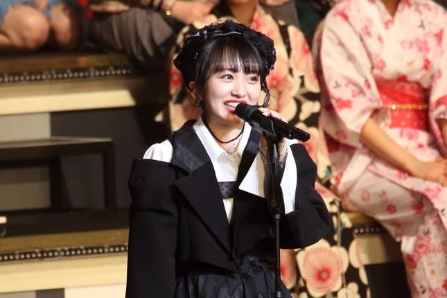 総監督就任に向けて決意表明するAKB48の向井地美音さん(2019年1月撮影)