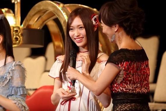 NGT48の山口真帆さん(2017年6月撮影)