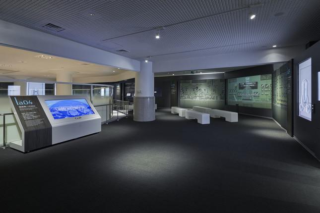 廃炉資料館2階、テーマは「記憶と記録・反省と教訓」