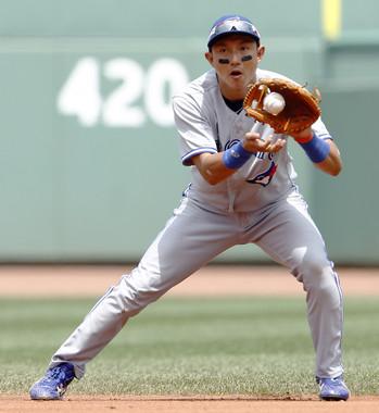 MLBで活躍した川崎宗則氏も「アイブラック」を使用(写真:ロイター/アフロ)