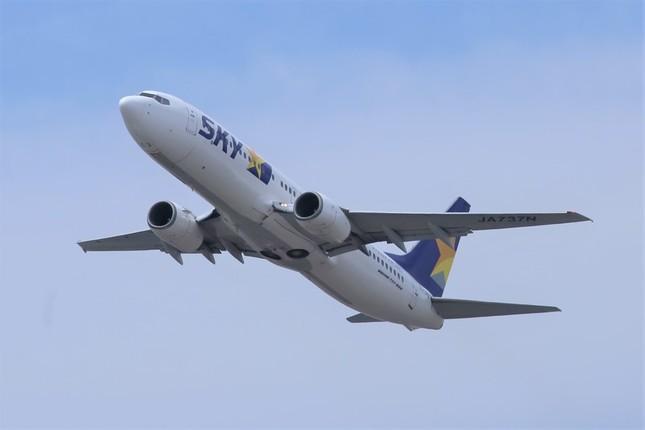 スカイマークは現時点では小型機のボーイング737-800型機のみで運航している