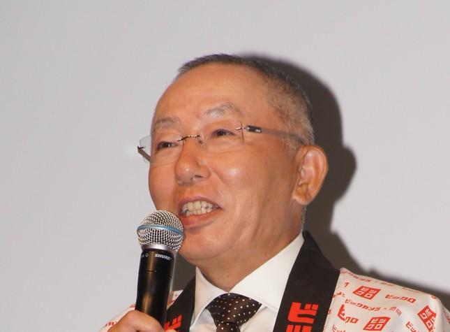 ファーストリテイリングの柳井正社長(2012年撮影)