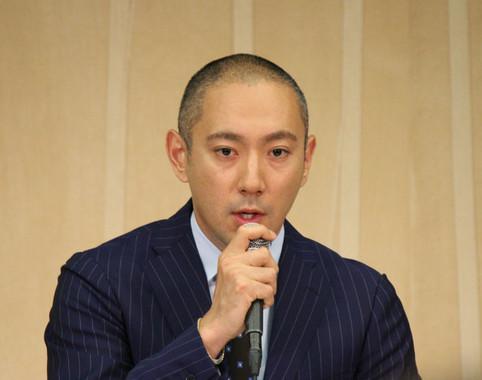 市川海老蔵さん(2016年6月撮影)