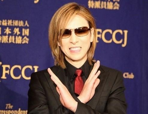 YOSHIKIさん(18年9月撮影)