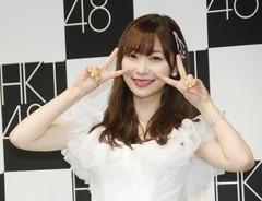 HKT48を卒業した指原莉乃さん(2019年4月28日撮影)