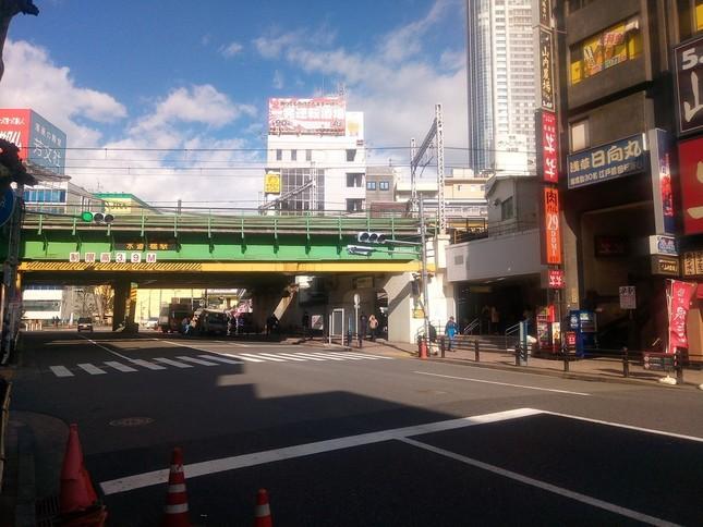 騒動があった水道橋駅周辺(イメージ)