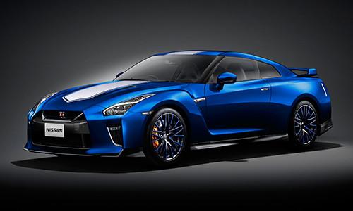 GT-Rの50周年モデル(プレスリリースより)