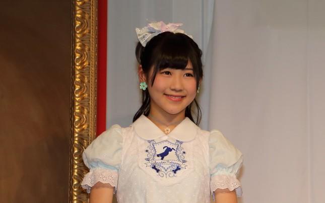 AKB時代の西野未姫さん(2014年撮影)
