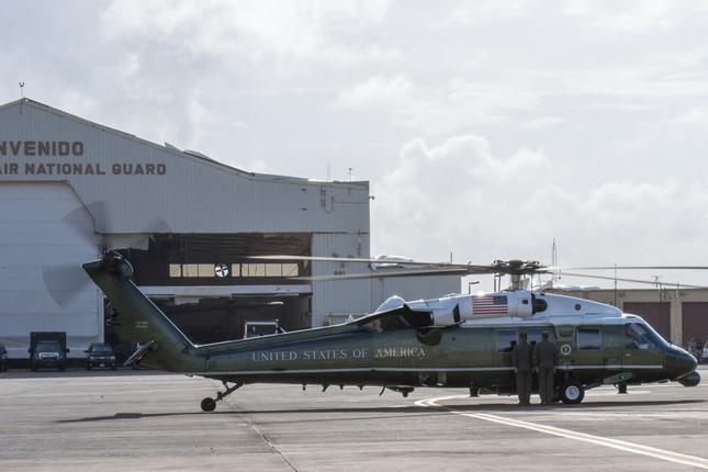 米大統領へりのひとつ「VH-60N」。すでに日本に持ち込まれている(写真は国防総省ウェブサイトから)