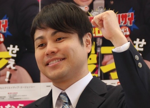 お笑いコンビ「NON STYLE」の井上裕介さん(2017年4月撮影)