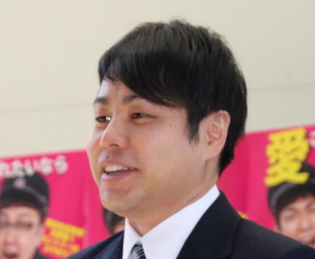 井上裕介さん(2017年撮影)