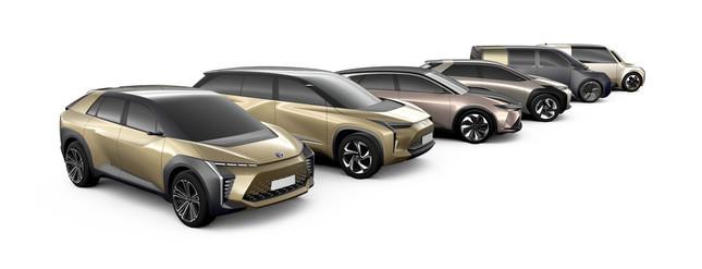 トヨタが打ち出した量産EV構想(プレスリリースより)