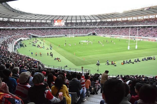 東京スタジアム(江戸村のとくぞう氏撮影:Wikimedia Commonsから)