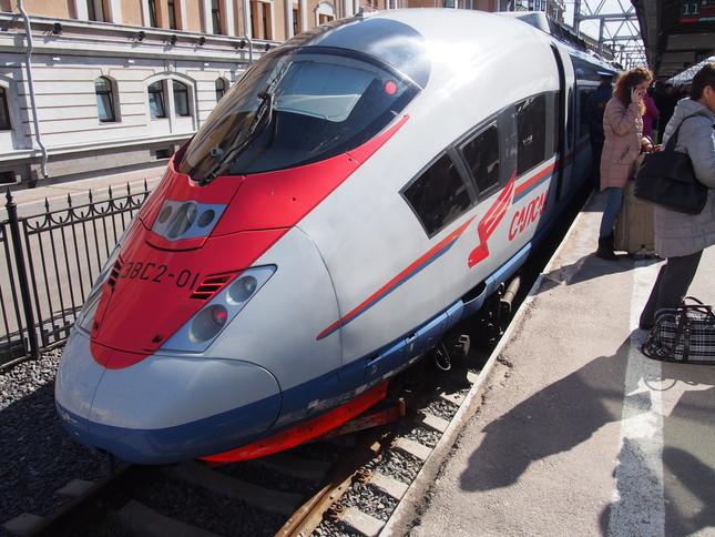 高速列車「サプサン号」