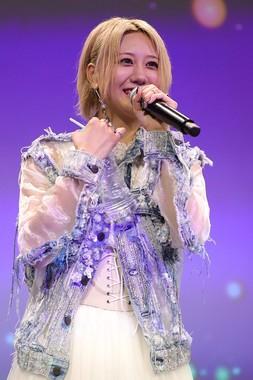 古畑奈和さんのソロライブは2公演・延べ440人(主催者発表)で満員になった(c)SKE