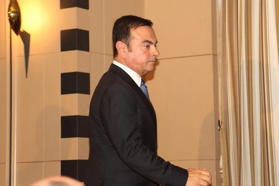 ゴーン元会長問題の余波はなお(2014年撮影)