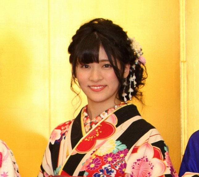 NGT48を卒業する村雲颯香さん(2018年1月撮影)