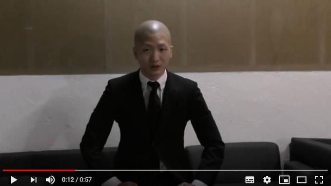 動画でパワハラを認め謝罪したDJ社長さん(YouTubeより)