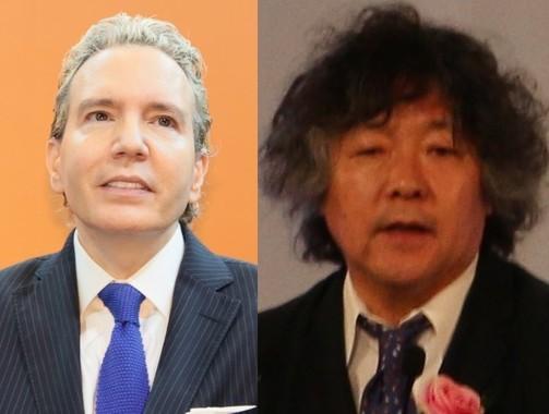 デーブ・スペクターさんと茂木健一郎さん(それぞれ2016年撮影)