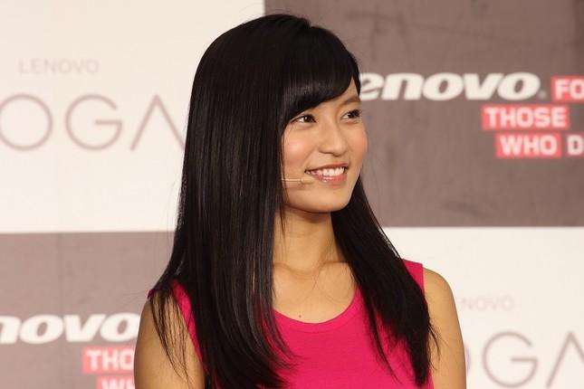 小島瑠璃子さん(2014年撮影)