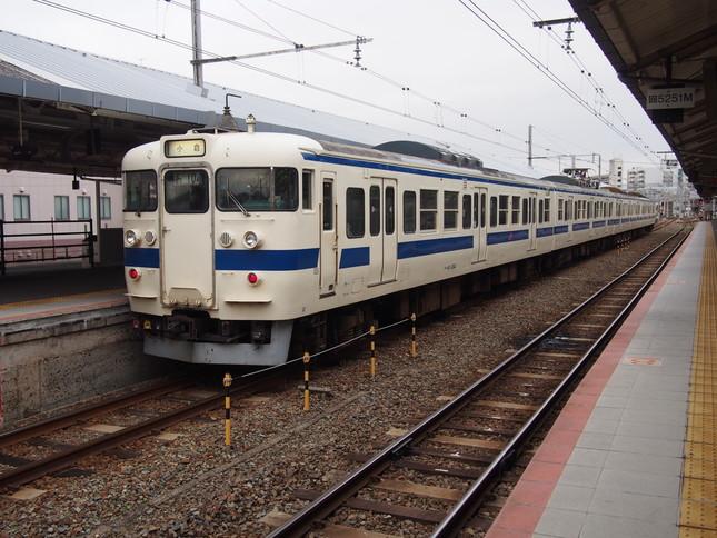 JR下関駅で撮影したJR九州所属の列車