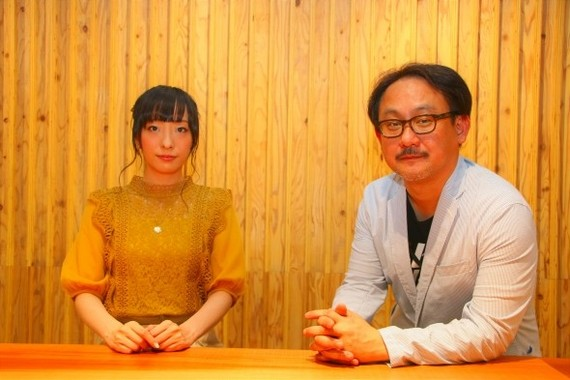 平山さんと、プロジェクト発起人の渡辺寛太さん(写真右)
