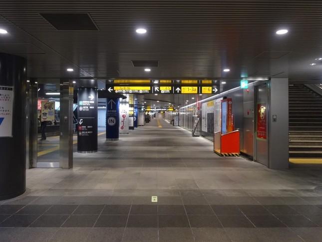 東急渋谷駅の地下通路(画像はイメージ)