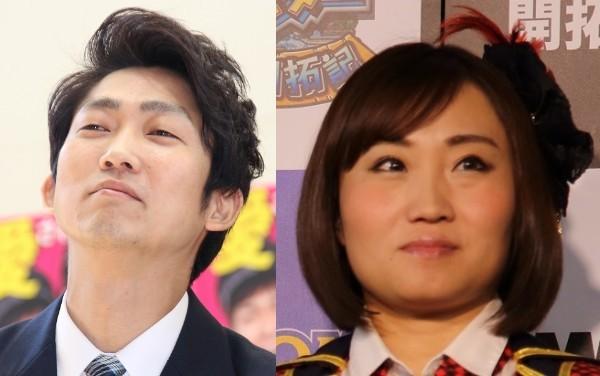 NONSTYLE石田さん(左)とキンタロー。(右)(写真はそれぞれ2017年、2014年撮影)