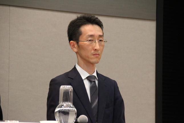 取締役営業部長の奥田裕康氏(2019年8月撮影)