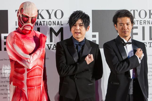 2014年、東京国際映画祭に登場した際の梶裕貴さん(写真:アフロ)