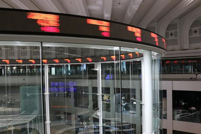 ソフトバンク株価の行方は(イメージ)