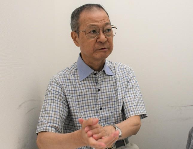 「事件の風化は一番怖い」と訴える賢二さん(2019年8月7日編集部撮影)