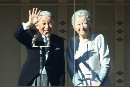 上皇さまと上皇后さま(写真は退位前の2019年1月2日、一般参賀に臨まれた際に撮影)